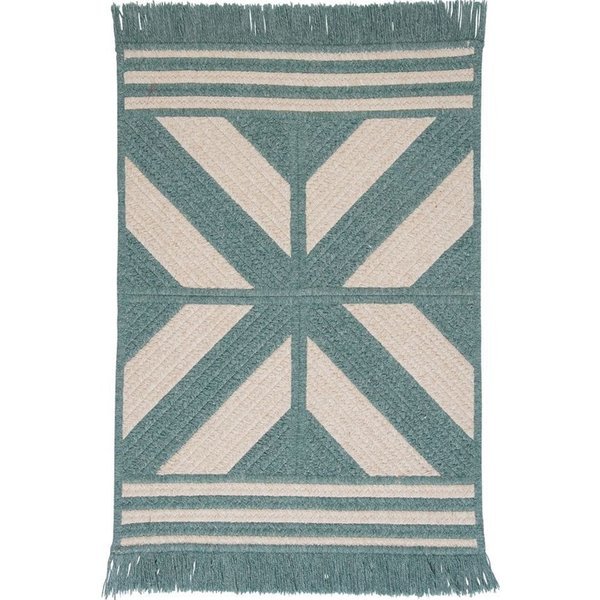 Teal (ED-49) Country Area Rug