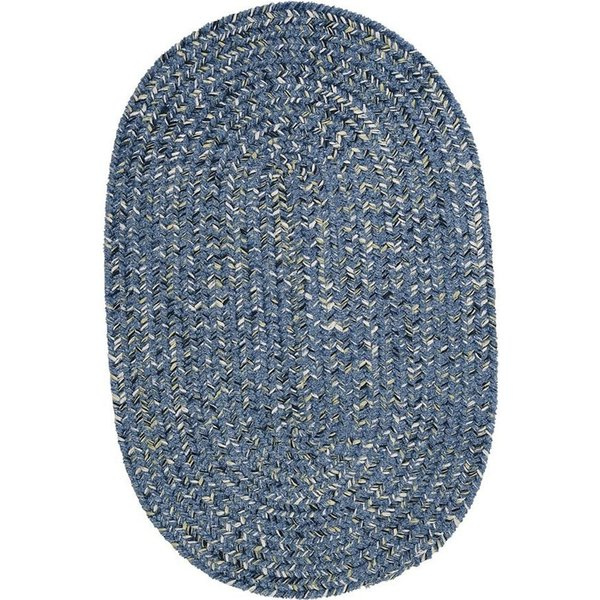 Blue Tweed (WB-51) Country Area Rug