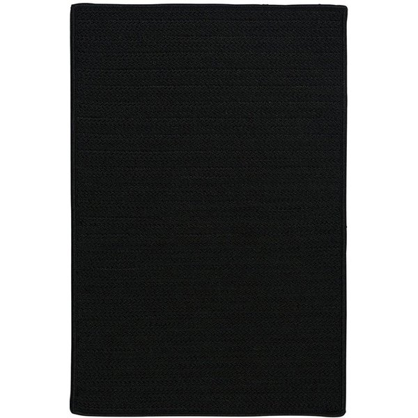 Black (H-031) Country Area Rug