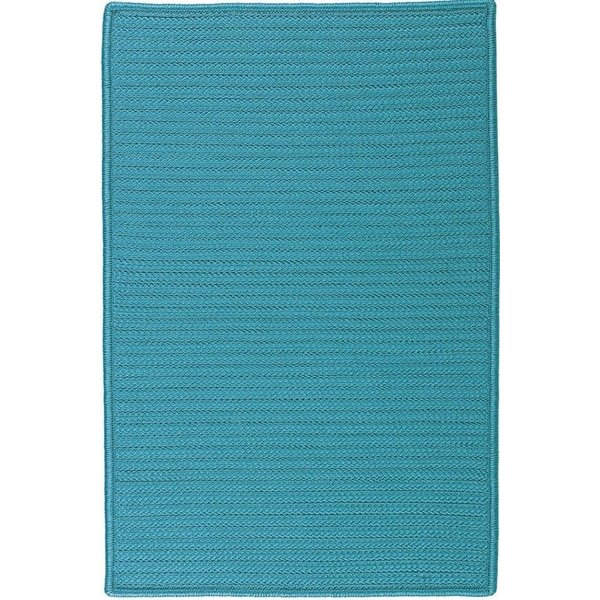 Turquoise (H-049) Country Area Rug
