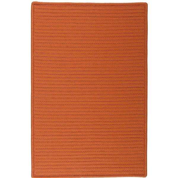 Rust (H-073) Country Area Rug