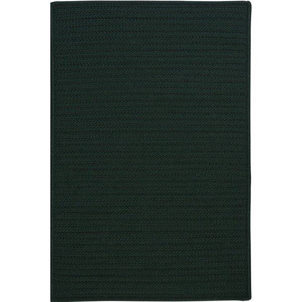 Dark Green (H-109) Country Area Rug