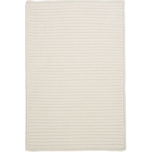 White (H-141) Country Area-Rugs