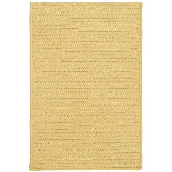 Pale Banana (H-833) Country Area Rug