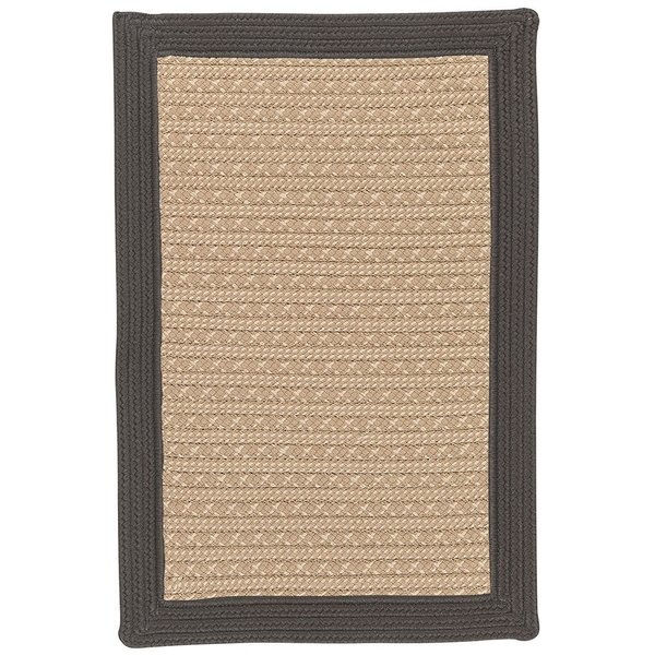 Gray, Beige (BY-43) Country Area Rug