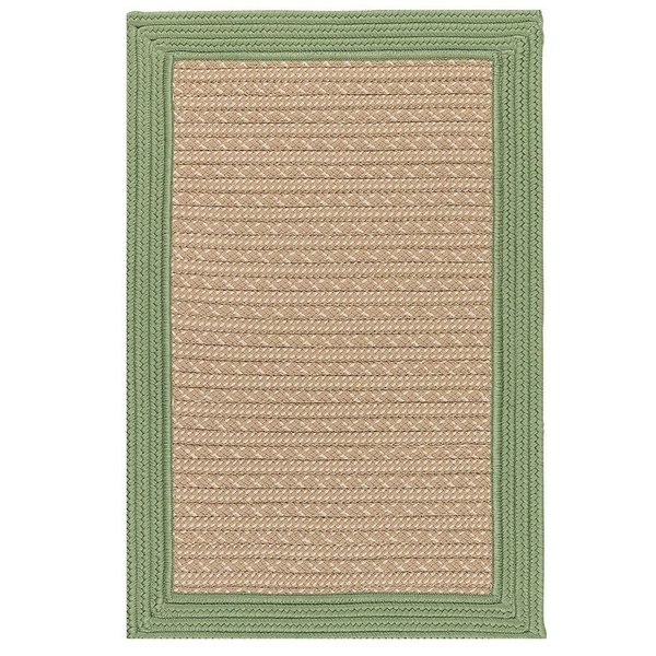 Moss Green, Beige (BY-63) Country Area Rug