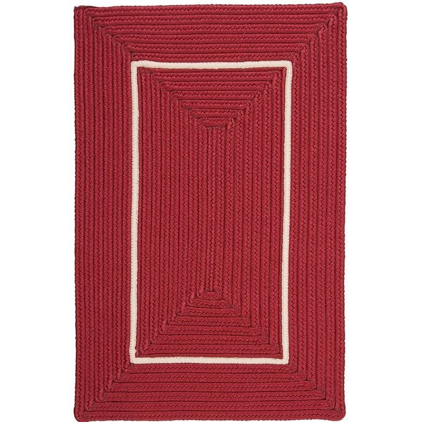 Red, White (FY-72) Country Area Rug