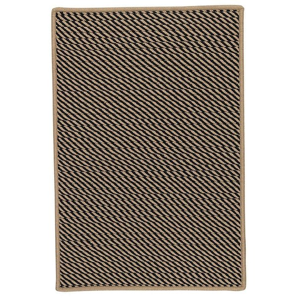Black, Beige (IM-13) Country Area-Rugs