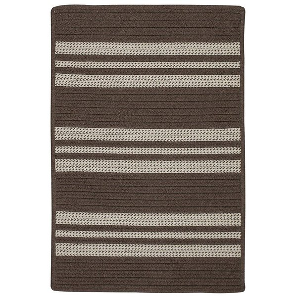Mink (UH-09) Striped Area-Rugs