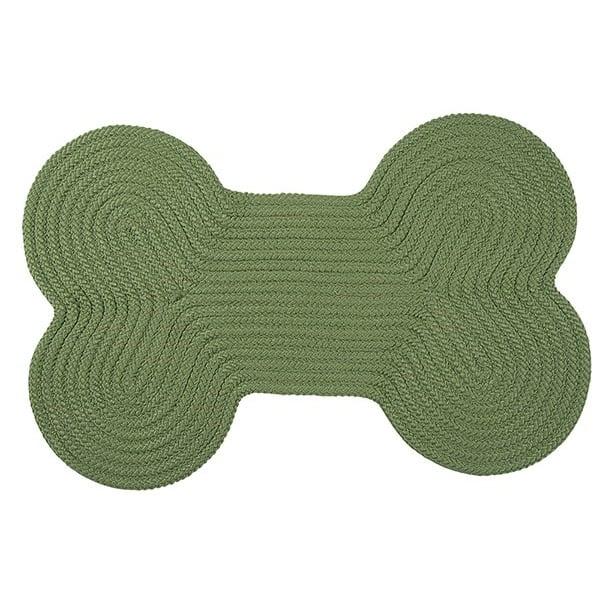 Moss Green (H123) Novelty / Seasonal Area Rug