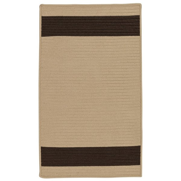 Sand, Brown (AR-35) Striped Area Rug