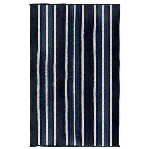 Navy Pier (MS-33) Striped Area Rug