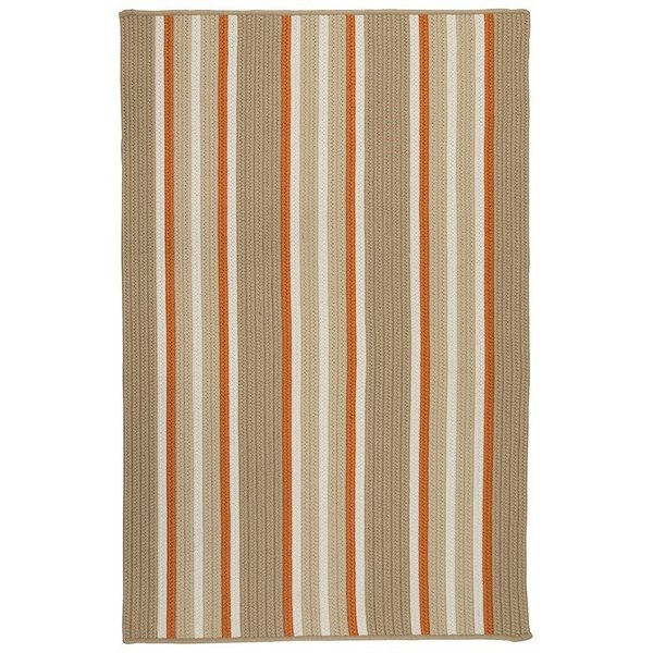 Rusted Sand (MS-36) Striped Area Rug