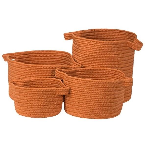 Orange (MR-73) Country Area-Rugs