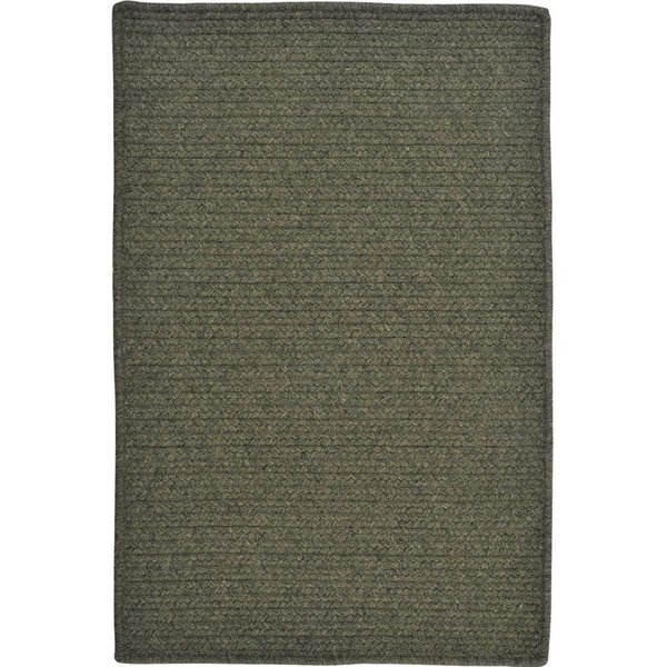 Olive (CY-51) Solid Area Rug