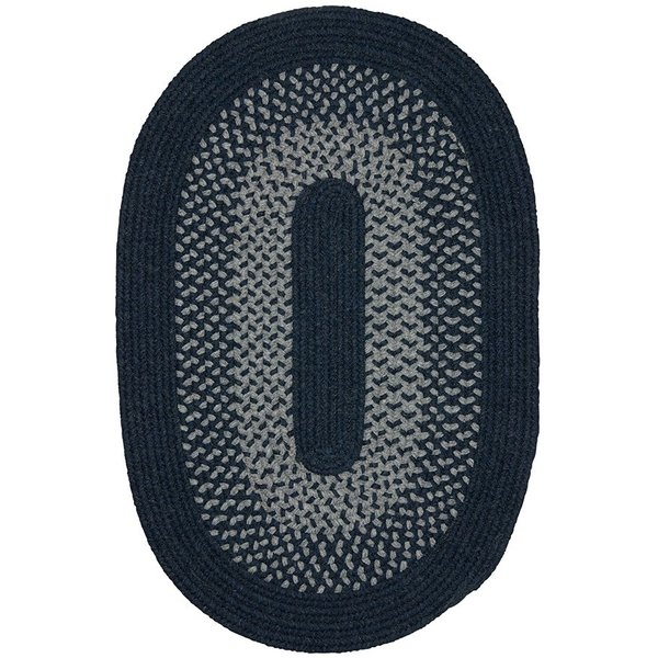 Navy, Gray (MD-24) Country Area Rug