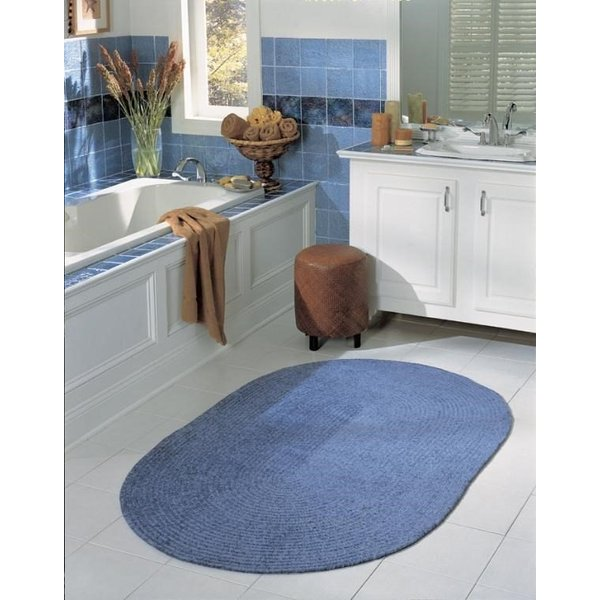 Petal Blue (S-501) Country Area Rug