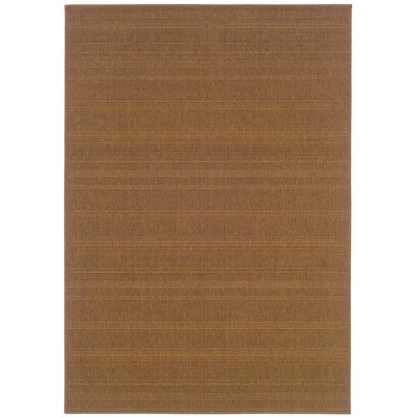 Tan (781N7) Contemporary / Modern Area Rug