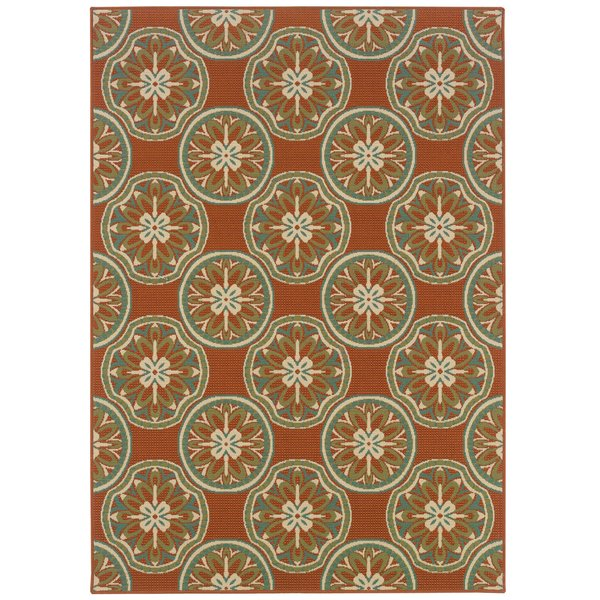 Copper, Ivory (8323D) Contemporary / Modern Area-Rugs