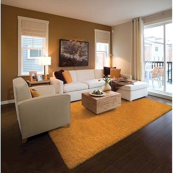 Gold (81107) Solid Area Rug