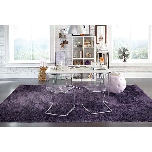Purple (81108) Solid Area Rug