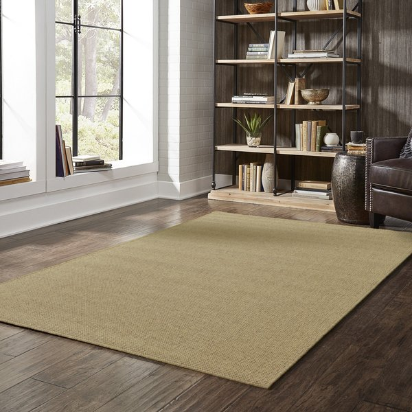 Tan Solid Area-Rugs