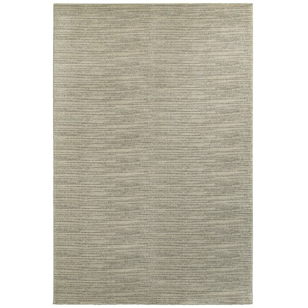 Beige, Ivory (A) Contemporary / Modern Area-Rugs