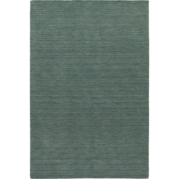 Blue (27101) Solid Area Rug