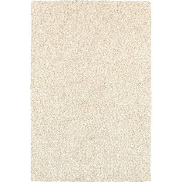 Ivory (73402) Solid Area Rug