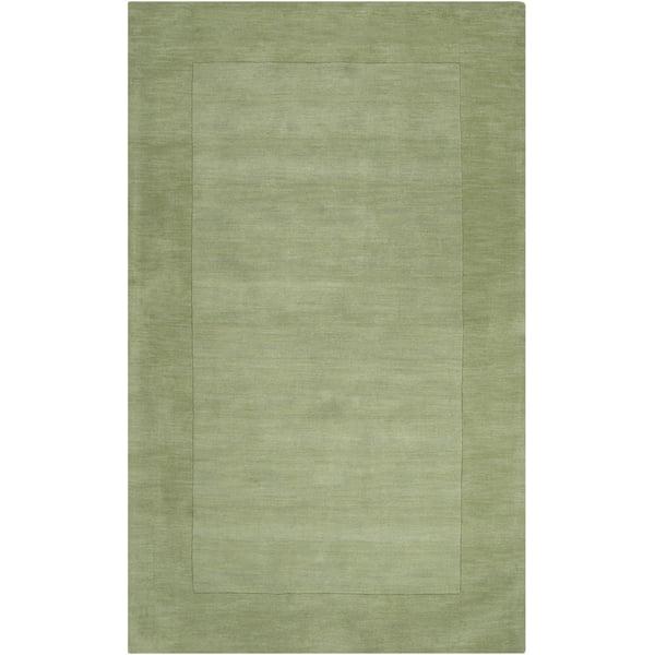 Grass Green, Dark Green (M-310) Contemporary / Modern Area-Rugs