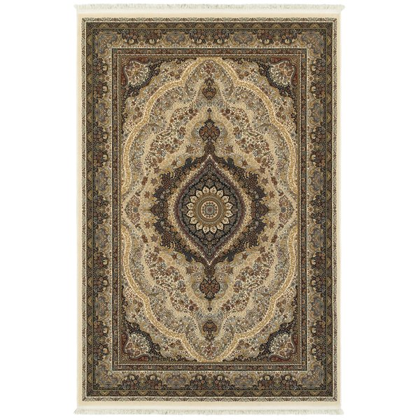 Ivory (W2) Traditional / Oriental Area-Rugs
