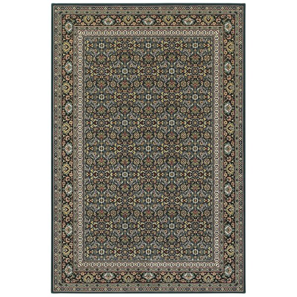 Navy (L1) Traditional / Oriental Area-Rugs