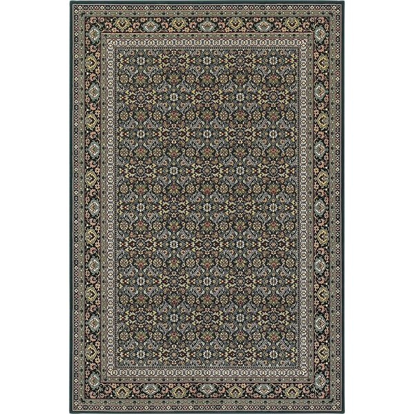 Navy (L1) Traditional / Oriental Area Rug