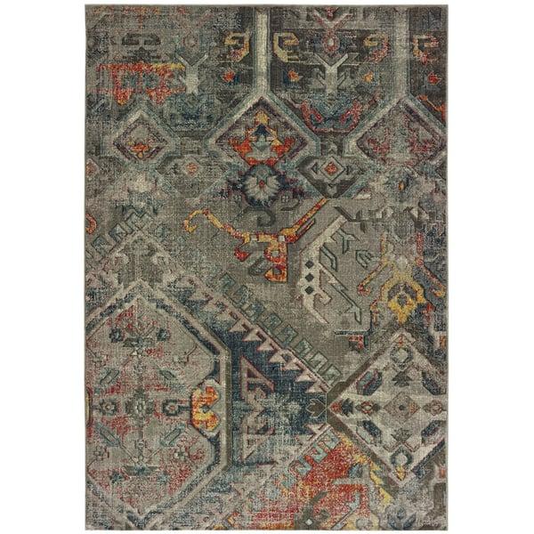 Grey (X) Moroccan Area-Rugs