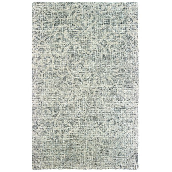 Grey, Ivory Traditional / Oriental Area-Rugs