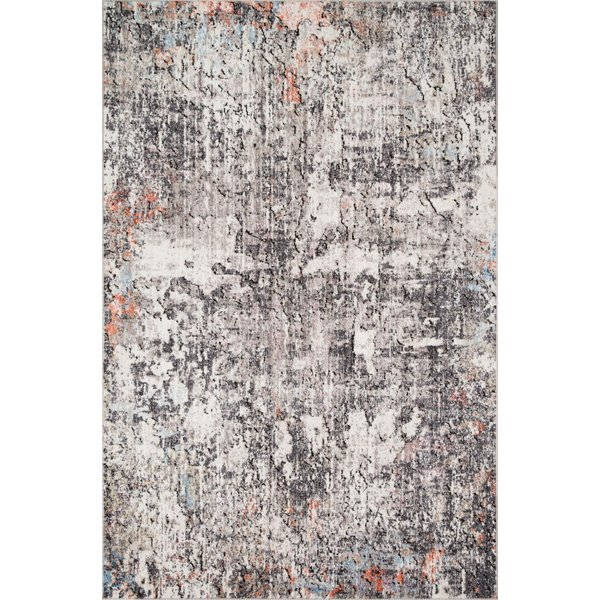 Ivory, Granite Abstract Area-Rugs
