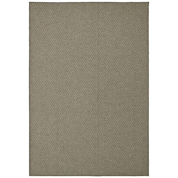 Grey (E) Contemporary / Modern Area Rug