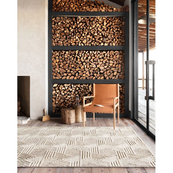 Fireplace Practicality - Rustic Living Room Ideas