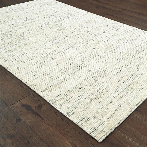 Ivory (02) Contemporary / Modern Area Rug
