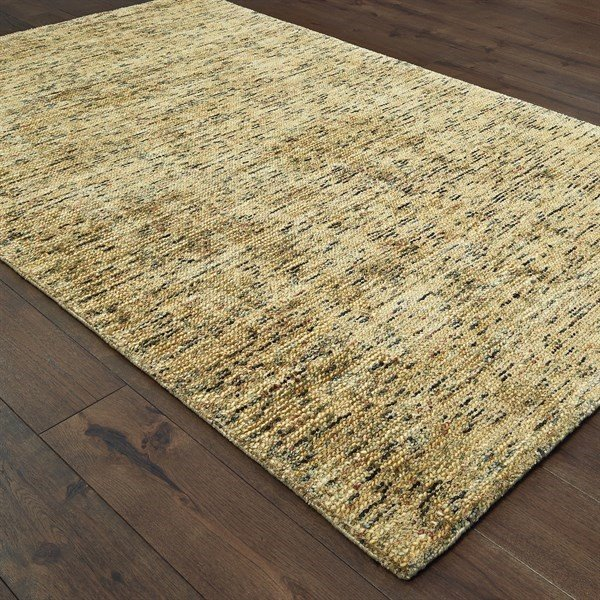 Gold (06) Contemporary / Modern Area Rug