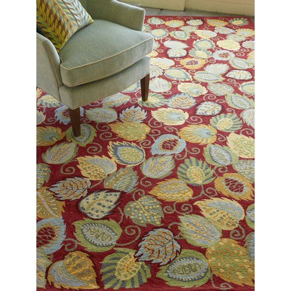 Chili (18532) Floral / Botanical Area-Rugs