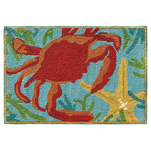 Red (19244) Beach / Nautical Area Rug