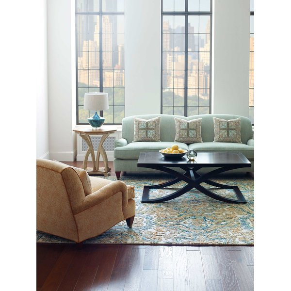 Brown, Blue (19541) Contemporary / Modern Area-Rugs