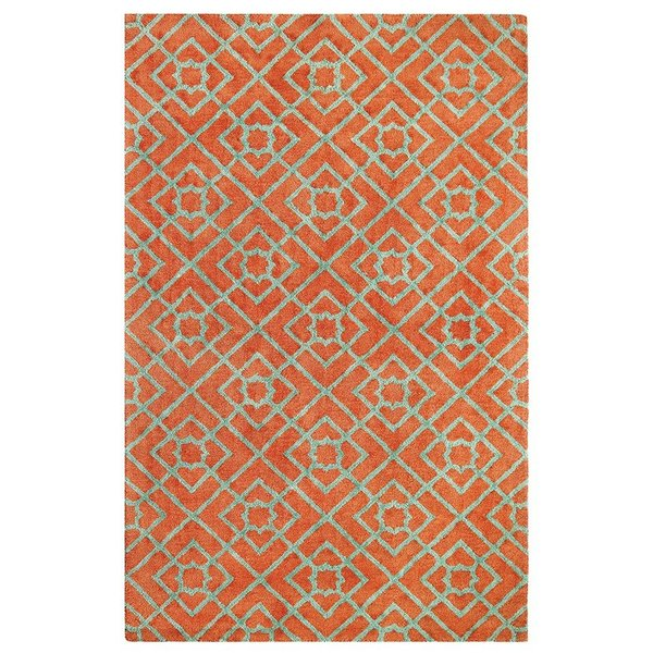 Coral (10762) Contemporary / Modern Area Rug