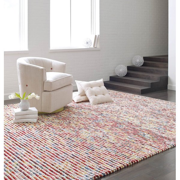 Red, Yellow, Blue (10729) Contemporary / Modern Area-Rugs