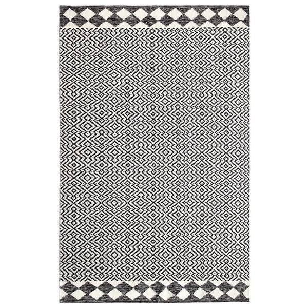 Black (10761) Contemporary / Modern Area Rug