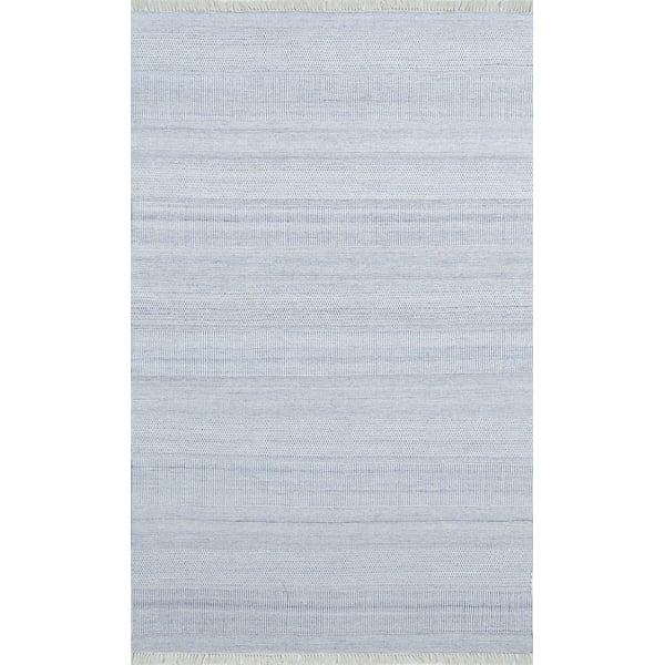 Blue Contemporary / Modern Area Rug