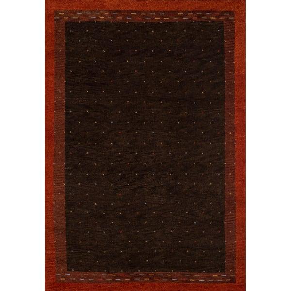Brown Bohemian Area Rug