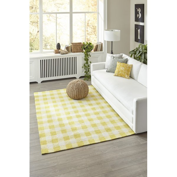 Yellow Country Area-Rugs