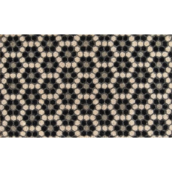 Black (ALO-10) Contemporary / Modern Area Rug